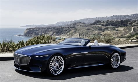The Vision Mercedes-maybach 6 Cabriolet Is An Electric Car