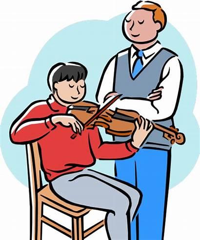 Teacher Clipart Teachers Clip Violin Teaching Iran