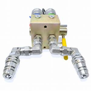 Manual Hydraulic Multiplier  Scv Splitter    Diverter Valve