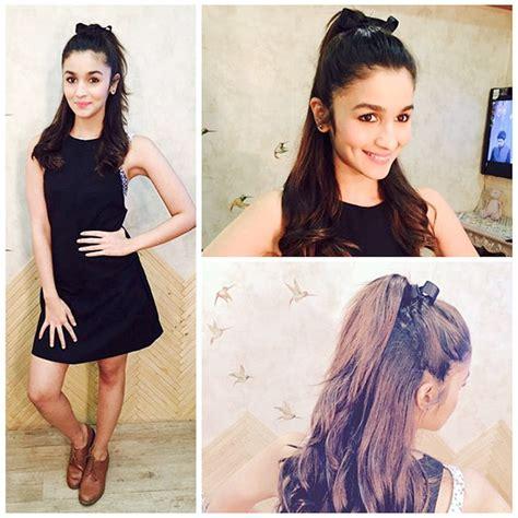 alia bhatt hairstyles  college girls