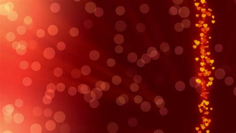 stock video clip  wedding background red abstract
