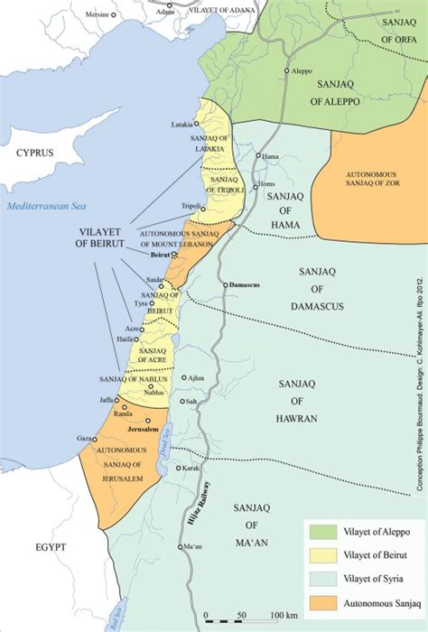 Palestine Ottomane by Historical Maps Of Israel And Palestine