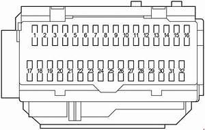 Toyota Aurion  2006 - 2012  - Fuse Box Diagram