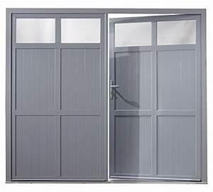 charmant porte de garage sectionnelle avec porte fenetre 2 With porte de garage sectionnelle avec porte fenêtre pvc 2 vantaux