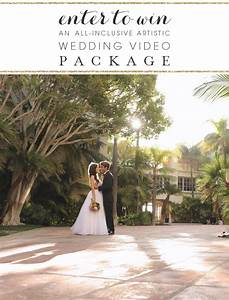 Enter to win an all inclusive artistic wedding videography for Wedding videography packages