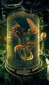 Digital Art Alien