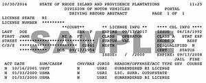 Rhode Island Dmv Driver Records