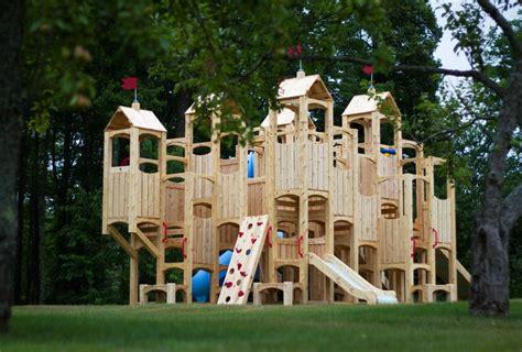 swing set blueprints frolic  wooden playset  swing