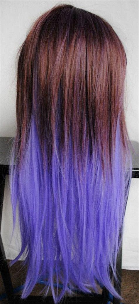 17 Best Ideas About Purple Dip Dye On Pinterest Purple