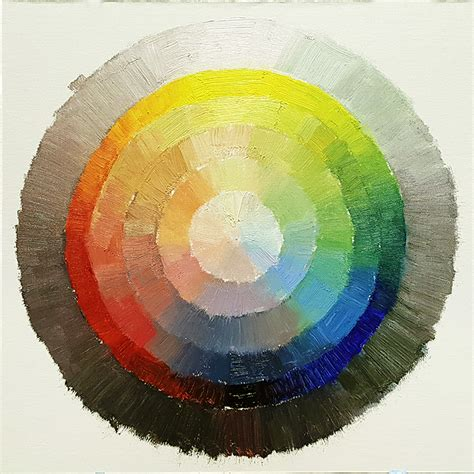07 limited color palette and paint your own color wheel