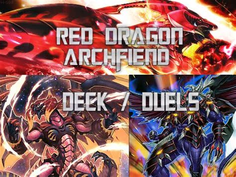 yugioh red dragon archfiend deck profile duel replays