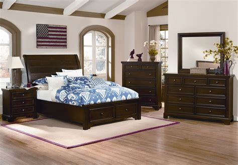 hanover storage king bedroom set louisville overstock