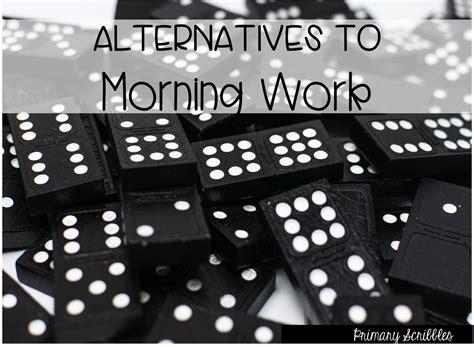 alternatives to morning work morning work worksheets