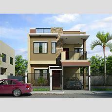 Simple Modern 3 Story House Plans — Modern House Plan