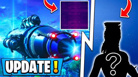 fortnite update rocket  event secret skin