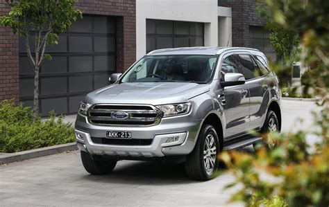 ford trend 2017 ford everest trend rwd review caradvice