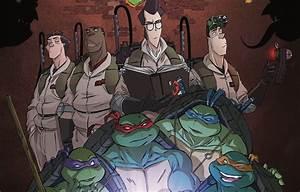 A Teenage Mutant Ninja Turtles and Ghostbusters Crossover ...