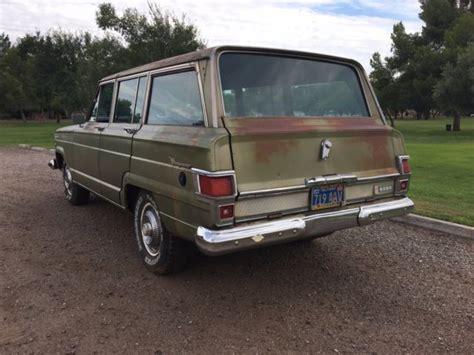1970 jeep wagoneer 1970 jeep wagoneer arizona survivor
