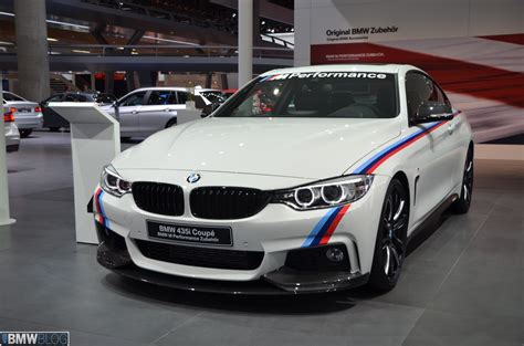 2013 Frankfurt Auto Show Bmw 435i M Performance Parts