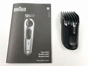 Braun Model  5542 Manual  U0026 Comb Guide 11