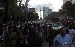 Tens of Thousands Take Mexico City's Streets | Multimedia ...