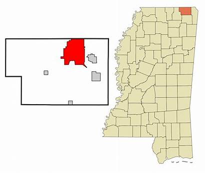 Corinth Mississippi Ms Alcorn County Svg Unincorporated
