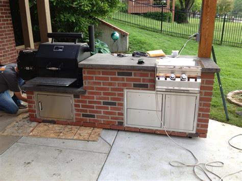 outdoor kitchen designs with smoker frequently asked questions on ys480 ys640 cookers 7238