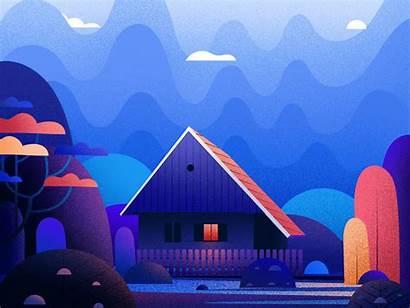 Illustration Colorful Febin Raj Dribbble Interview Illustrations