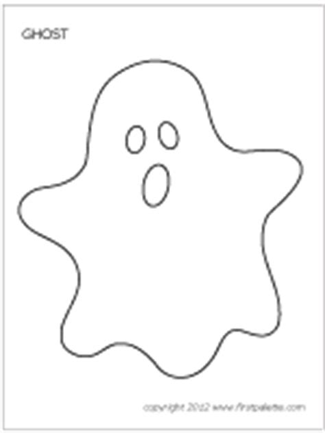 Halloween Ghosts  Printable Templates & Coloring Pages