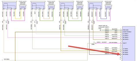 Ford Fusion Radio Wiring Diagram Periodic