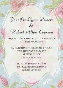 wedding invitations blue and pink floral bohemian wedding invitations iwi304 wedding invitations