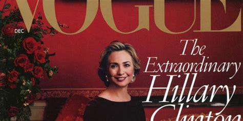 Hillary Clinton Cover by Oscar De La Renta Convinced Anna Wintour To Put Hillary