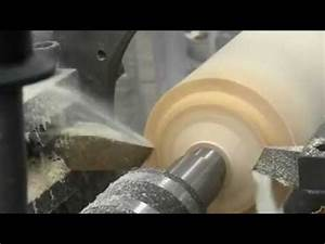 cnc wood lathe machine - YouTube
