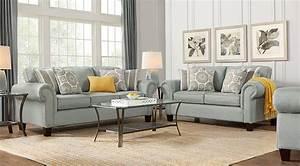Www Sofa Com : pennington blue 7 pc living room living room sets blue ~ Michelbontemps.com Haus und Dekorationen