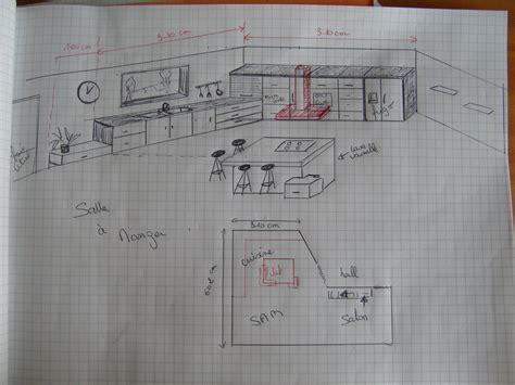 plan cuisine 10m2 cuisine 9m2 plan
