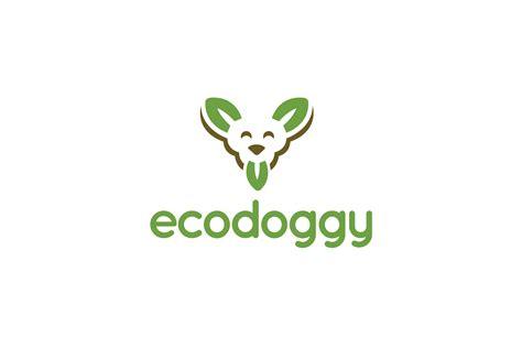 EcoDoggy Dog Canine Logo Design – Logo Cowboy