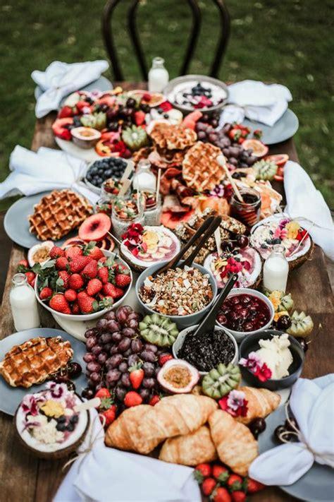 breakfastbrunch grazing table food bars buffets