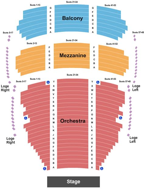 foto de Sesame Street Tickets Seating Chart Castle Theater at