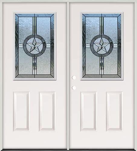 cheap  lite texas star steel prehung double door unit