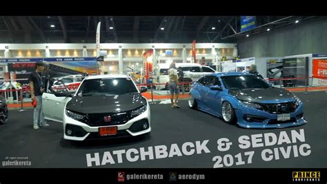 Honda Civic Hatchback Modification by Honda Civic 2017 Hatchback Fk4 Modified Vs Civic Sedan Fc