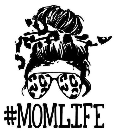 Mom life svg laser cut file bandana sunglasses mothers day sublimation mom life sublimation mom sublimation sublimation designs mothers day sublimation. Mom Life Messy Bun Leopard Print SVG in 2021 | Cricut ...
