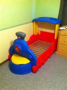 60 little tikes toddler train bed for sale in chicago