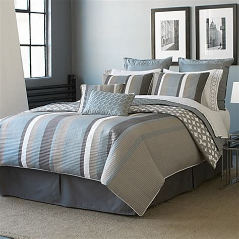 hgtv home lucas comforter set bed bath beyond
