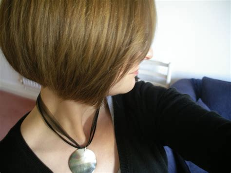 Bob Back View Stacked Haircut Trendy Hairstyles
