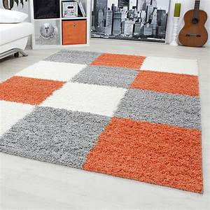 tapis orange et gris atlubcom With tapis orange et gris