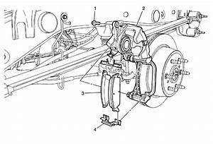 Service Manual  2009 Chevrolet Express 1500 Brake Drum Structure Installation