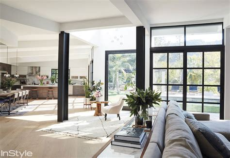 Instyle's Home Y Design : Tour Lea Michele's Los Angeles Home And