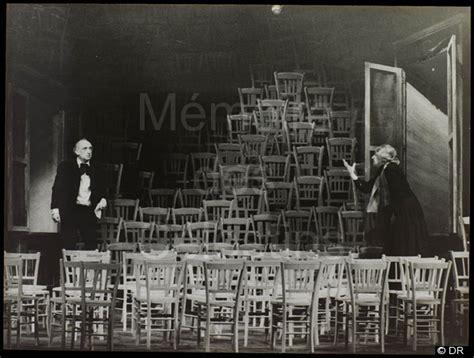 eugène ionesco les chaises les chaises 1975 1976 saisons accueil mémoires célestins racine célestins théâtre