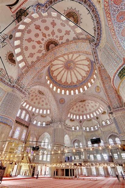 Mosque Istanbul Inside Architecture