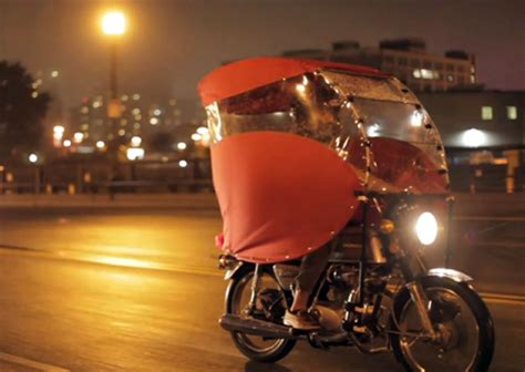 motorcycle rain the rainrunner a portable way to stay dry while